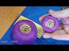 (35) Fondos para cintas de Encaje de Bolillos - Ruso. Bolillotutorial de Raquel M.Adsuar Bolillotuber - YouTube