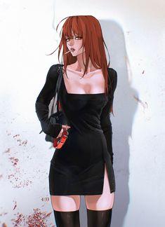 Anime Sexy, Evil Anime, Dark Anime, Sad Anime Girl, Manga Girl, Anime Art Girl, Chica Fantasy, Fantasy Girl, Character Design Girl