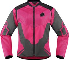 Anthem 2 Mesh Jacket - Pink | Products | Ride Icon