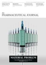 The cover of the latest issue of The Pharmaceutical Journal