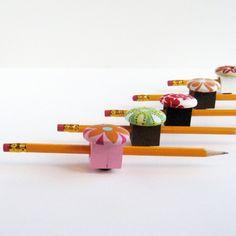 Magnetic Pen, Pencil, or Chalk Holder. $6.00, via Etsy.