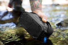 The Braven BRV-1M Portable Bluetooth Speaker - http://www.gadget.com/2016/05/braven-brv-1m-portable-bluetooth-speaker/ braven speakers, portable bluetooth speaker, portable speaker, wireless speaker