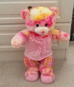 Build a bear strawberry cheese cake bear and outfit
