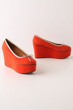 Red platform shoes - Fashion - Photography
