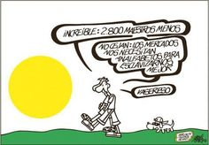 Rincón Solidario » Blog Archive » Viñetas Solidarias: Educación y Economía por Forges y Eneko
