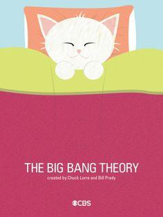 Big Bang Theory minimalist tv poster serie