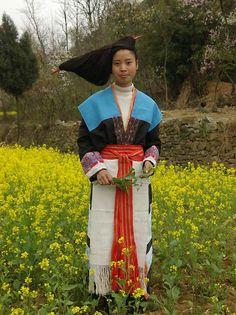 Chinese minority 苗族(miáozú)