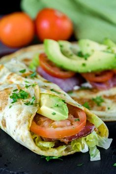 Low-Carb Breakfast Burrito