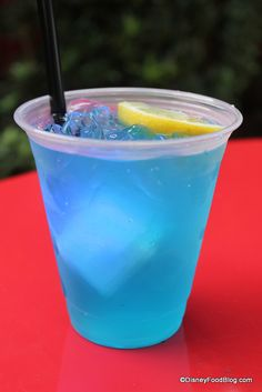 Blue Skyy Lemonade at High Octane Refreshments at Hollywood Studios!