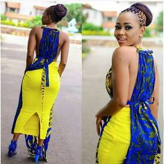 latest african fashion look 499 Ankara Styles For Women, Ankara Dress Styles, African Print Dresses, African Dress, Ankara Blouse, Ankara Gowns, African Prints, African Fashion Designers, Latest African Fashion Dresses