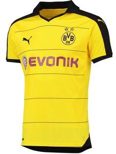 Borussia Dortmund 2015-16 Home kit Camisetas De Time 97a2cdddef8