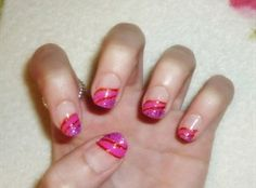 Pink French Pedicure by Constance