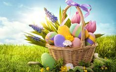 Happy Easter 2018 Wallpapers HD with Easter Egg HD Images and Wishes: Easter usually occurs on the first Sunday after Good Friday. That is why it is also known as Easter Sunday. Easter is the festival of Joy and Happiness. The reason behind Easter celebration is the rising of Jesus Christ from dead.