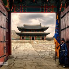 Gyeongbokgung Palace, South Korea, Seoul