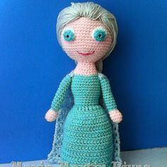 Elsa Amigurumi Patron Gratis : Frozen on Pinterest Anna Frozen, Olaf and Amigurumi