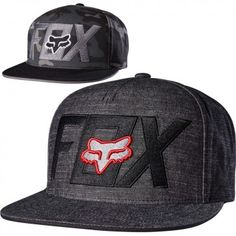 fd1cd718f75 Fox Racing Keep Out Mens Caps Motocross Off Road Snapback Hats Cute  Outfits
