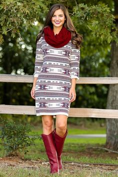 Cabin Hideaway Sweater Dress - What's New