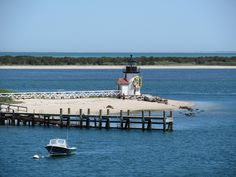 Quiet, peaceful Nantucket Island in Massachusetts has one of the most intriguing beaches in the USA #Beaches