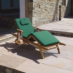 Garden Furniture: Amalfi Garden / Patio Balau (Premium Quality) H/wood fully adjustable Sun Lounger Sun Lounger Chair, Sun Lounger Cushions, Luxury Cushions, Spa Furniture, Garden Furniture, Outdoor Furniture, Outdoor Decor, Outdoor Living, Amalfi