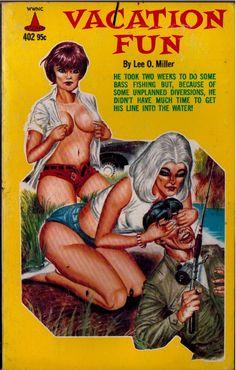 "He didn't know how to fish women - Art by Gene Bilbrew - Board ""Art - Gene Bilbrew"" -"