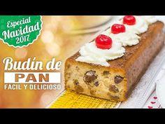 BUDÍN O PUDÍN DE PAN | ESPECIAL NAVIDAD | Quiero Cupcakes! - YouTube Cupcakes, Creme Brulee, Flan, Waffles, French Toast, Bread, Breakfast, Sweet, Desserts