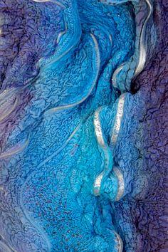 ❧ Couleur : Violet et bleu ❧