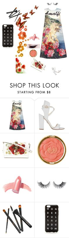 """""""Untitled #1263"""" by alla-chernets ❤ liked on Polyvore featuring Dolce&Gabbana, Paul Andrew, Milani, Elizabeth Arden and J.Crew"""