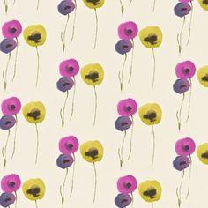 Balloon pattern magenta lilacyellow