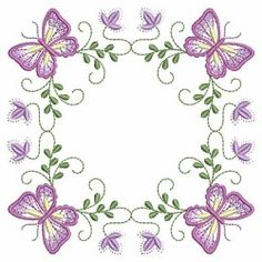 Butterfly Fancy Block 3 - 3 Sizes! | What's New | Machine Embroidery Designs | SWAKembroidery.com Ace Points Embroidery
