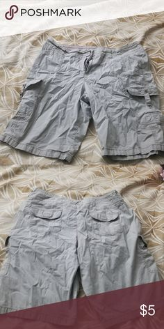 f1a1509a2a857 Shorts Women s plus size cargo style shorts khakis amp company Shorts  Cargos Plus Size Women