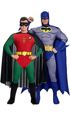 Deluxe Brave and the Bold Batman Couples Costumes