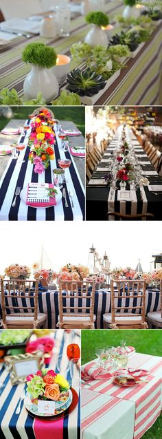 Coloured Table Linen Inspiration