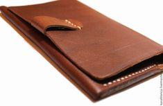 Купить Кошелек / Чехол для документов / Органайзер - коричневый, однотонный, подарок, Для водителя