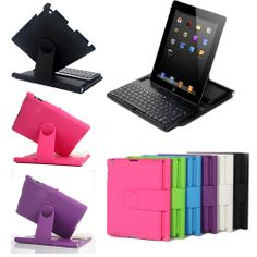 $36 Cover Case with Swivel Rotary Stand Bluetooth Wireless Keyboard for iPad 4 3 2 | eBay