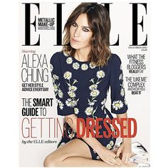 #Elle UK December/2015 #AlexaChung by #MattIrwin #fashioneditorial #covershot #magazine #models #fashion #style #stylish #instafashion #beauty #fashionissue #editorialdesign #makeup #magazines #inspiring #fashionphotography #mags #luxury #glamour #Interview #ElleUK @elleuk