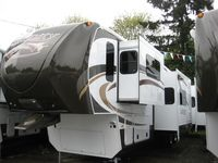 2013 Infinity 3750FL Featuring The All New Dutchmen Infinity 3750FL Front  Living Room Fifth Wheel. Part 80