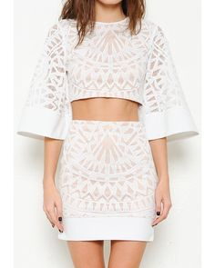 2f913b5b5b12 Say goodbye to winter   HELLO to spring in our Love Child Two Piece! White