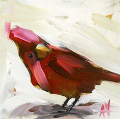 """young cardinal"", Angela Moulton"