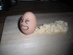 Egg Diarrhea