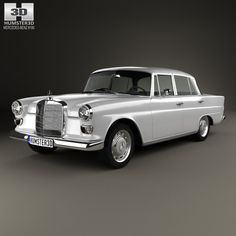Mercedes-Benz W110 1966 3d model from humster3d.com. Price: $75