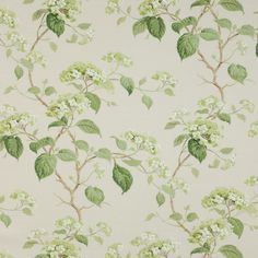 Summerby [Summerby] Brand Colefax and Fowler Item Number Color leaf green Contents Linen Cotton Polyamide Width Weight 15 ounces Repeat Vertical: Horizontal: Pattern Book CF Haslemere Classic Wallpaper, Home Wallpaper, Fabric Wallpaper, Pattern Wallpaper, Pierre Frey, Blue Wallpapers, Paper Hearts, Textiles, Home Decor Fabric