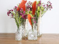HGTV.com shows you how to use simple drawing techniques to dress up basic glass jars.