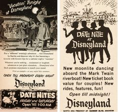 "Disneyland...""a favorite with Grown-Ups for a summer night's 'vacation.'"""