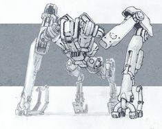 Mech Sketch, Nikolay Georgiev on ArtStation at https://www.artstation.com/artwork/mech-sketch-d03dd129-4045-4980-b99a-059c5b2892e6