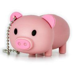 Pink Pig Flash Drive
