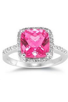 Incredible pink diamond ring thats what I want for my wedding ring❤