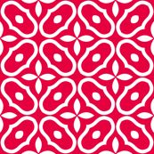Mosaic - Retro Kitchen Red - inscribed_here - Spoonflower