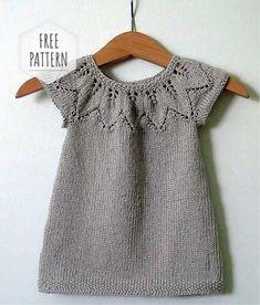 Knitting Vest for Kids - Kids # Knitting Patterns For Kids Knitting Terms, Kids Knitting Patterns, Baby Sweater Patterns, Knitting For Kids, Knitting For Beginners, Knit Vest Pattern, Dress Patterns, Girls Knitted Dress, Knit Baby Dress
