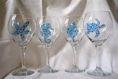 Hand Painted Beach Scenes Glass - Yahoo Image Search Results