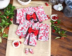 KIMONO # Doll clothes for Neo Blythe. by RabbitinthemoonThai on Etsy